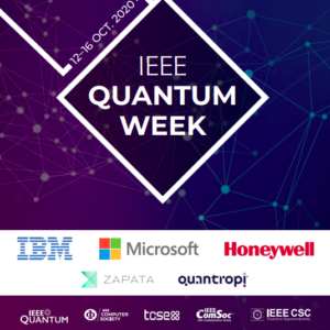 Qubit Engineering presents at IEEE Quantum Week – October 16th 2020