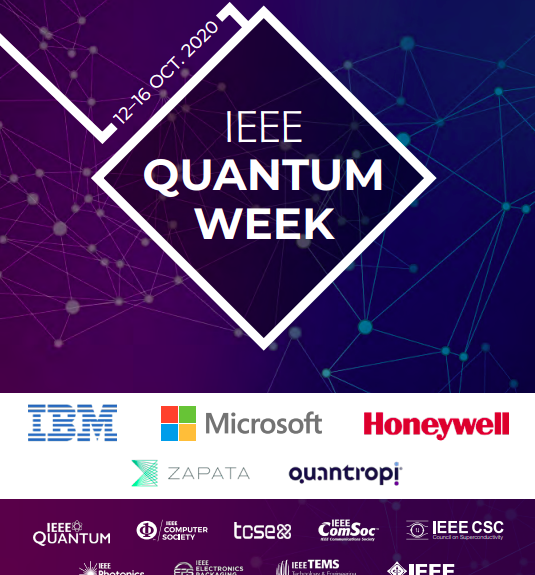 Qubit Engineering presents at IEEE Quantum Week – October 16th 2020